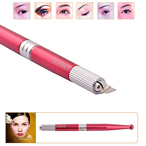 Chuse M5 2pcs/lot Professional High Quality Handmade Manual Tattoo Pen for Permanent Eyebrow Makeup