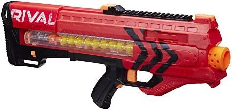 Nerf Juego de Pistola Rival Zeus MXV, B1592, Color Rojo ...