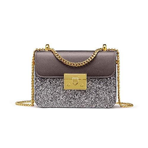 Sac Mini Main de pour Ladies Fille Seule Sacs côté de flakes Bracelet à silver Fashion épaule Sac WWAVE chaînette Diagonal xFqP6pgnw