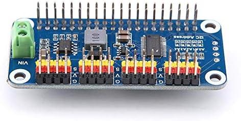 ZT-TTHG ステアリングアクチュエータボード、ステアリングアクチュエータドライバボード16チャンネル2ビット分解能のためにラズベリーパイ