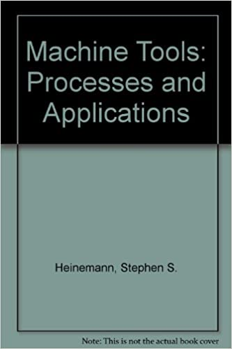 Machine Tools: Processes and Applications