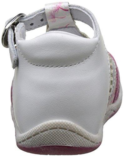 babybotte Papiyote - Zapatos de primeros pasos Bebé-Niños Blanc (Blanc/Pissenlits)