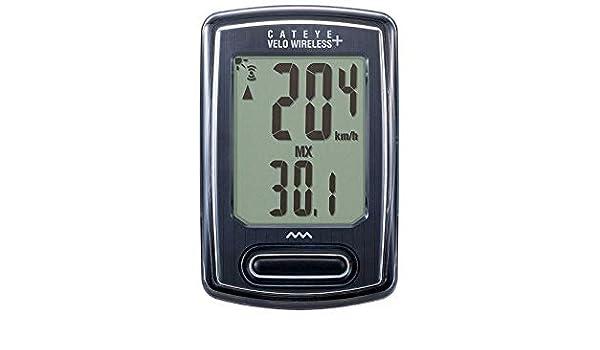 Cateye CC-VT235W Bike Speedo Computer LCD Backlight Velo Wireless Speedometer