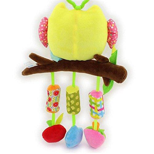 BUNITA,Plush Elephant musical windbell Baby toddler musical mobile toy educational Toys juguete bebes jouet Stroller Crib rattle gift