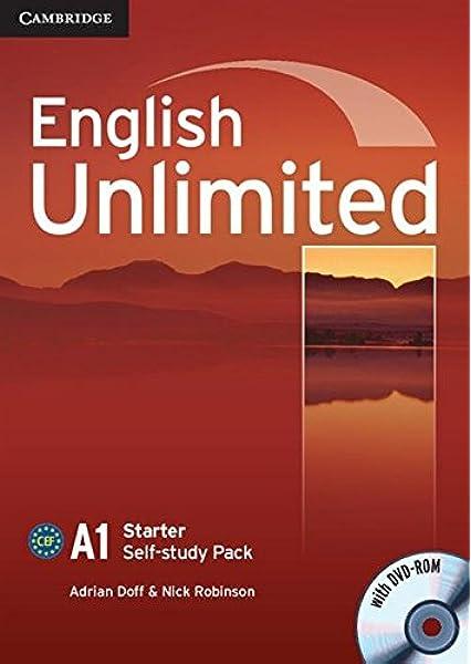 English Unlimited Starter Self-study Pack Workbook with DVD-ROM: Amazon.es: Doff, Adrian, Robinson, Nick: Libros en idiomas extranjeros