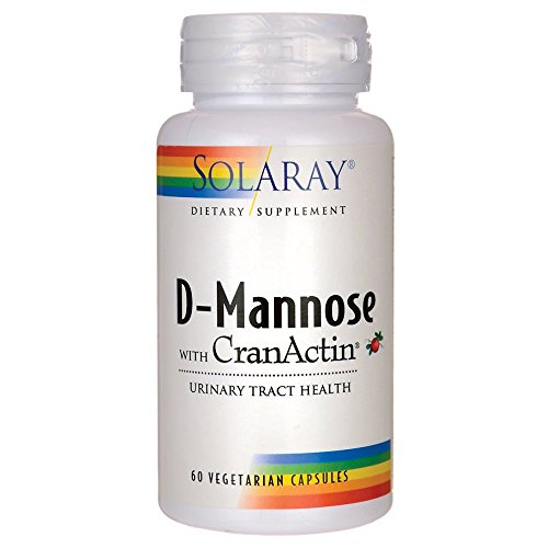 D-Mannose with CranActin Solaray 60 VCaps