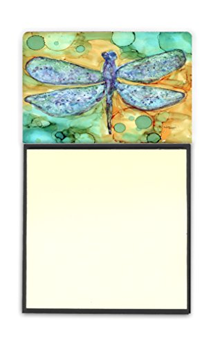 Caroline's Treasures Abstract Dragonfly Sticky Note Holder, Multicolor (8967SN) by Caroline's Treasures