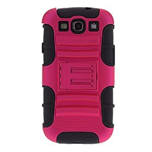 Hybrid Double-Deck Case + Cable for Samsung Galaxy S3 I9300