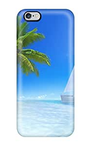 Jill Kogan Fashion Protective Great Tropical Beach Case Cover For Iphone 6 Plus