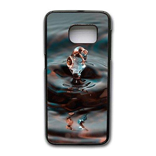 Samsung Galaxy S7 Edge Hd Con Sfondo Trasparente Motivo Gocce D
