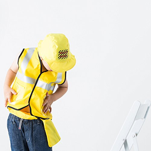 Construction Worker Costume Role Play Kit Set, Engineering Dress Up Gift Educational Toy For Halloween Activities Holidays Christmas for 2, 3, 4, 5, 6, 7 Year Old Kids Toddlers Boys - iPlay, iLearn by iPlay, iLearn (Image #4)