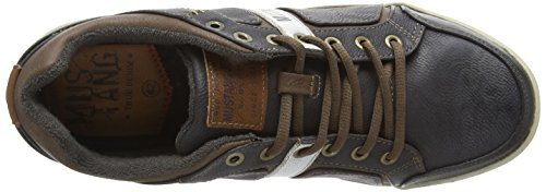 Mustang Schnürhalbschuh - zapatilla deportiva de material sintético hombre gris - Grau (259 graphit)