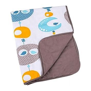 Babymoov Doomoo A044026 - Cobertor, diseño Bird, color azul ...