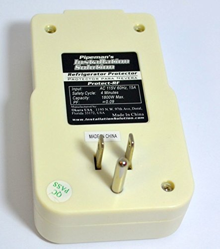 2 Pack Voltage Protector Brownout Surge Refrigerator 1800 Watts Appliance 6 USED ON: Refrigerators, Freezers, Water Coolers or any Appliance with a max current of 15 amps.