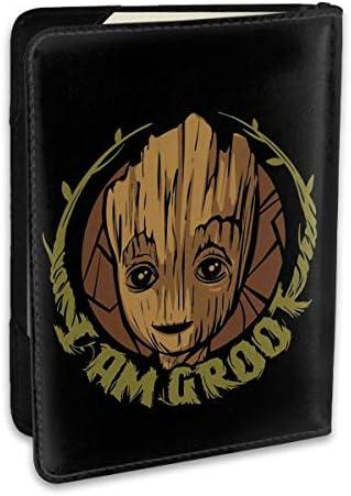 グルート I Am Groot パスポートケース パスポートカバー メンズ レディース パスポートバッグ ポーチ 収納カバー PUレザー 多機能収納ポケット 収納抜群 携帯便利 海外旅行 出張 クレジットカード 大容量