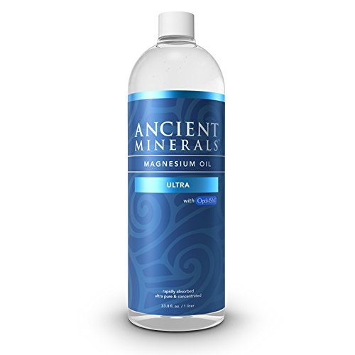 Ancient Minerals Magnesium Oil Ultra with OptiMSM, Refill...