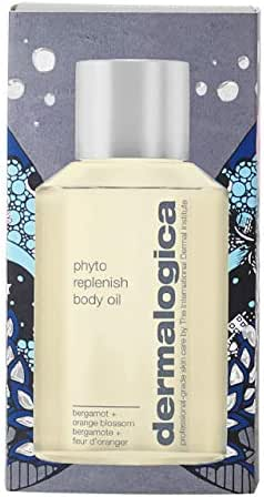 Dermalogica Phyto Replenish Body Oil, 4.2 Fl Oz - Lightweight Moisturizer with Vitamin E and Almond Oil