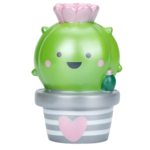 Kawaii Jumbo Cactus crema perfumada Squishy lento aumento colección Squeeze estrés juguete regalo para niños y...
