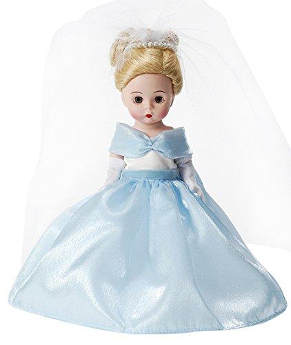 """Madame Alexander Fairy Tale Bride Cinderella Doll, 8"""""""