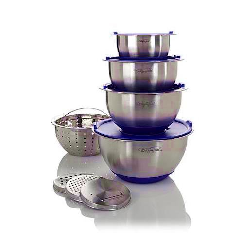 wolfgang puck stainless bowls - 2