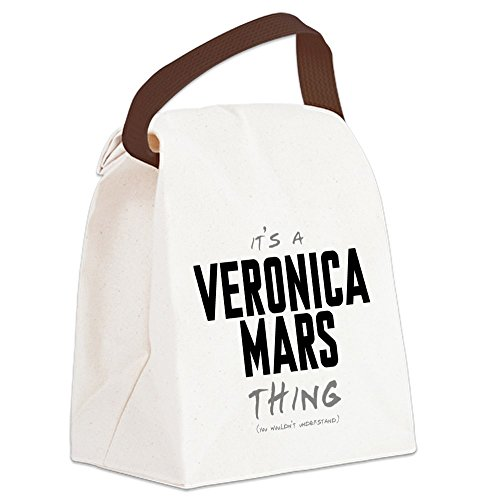 CafePress - It's a Veronica Mars Thing Canvas Lunch Bag - Canvas Lunch Bag with Strap Handle