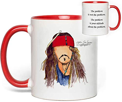 Pirates of the Caribbean Mug (Captain Jack Sparrow) Quote Fan Gift