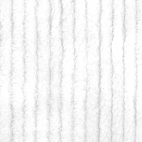 Richland Textiles AH-402 10 Ounce Chenille White Fabric by The Yard ()