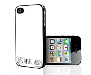 Live, Laugh, Love and Repeat Hard Snap on Phone Case (iPhone 5/5s)