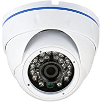 GW Security 2.1 Megapixel HD 1080P AHD Weatherproof Dome Security Camera with 3.6mm Wide Angle Len (Only Compatible with HD-AHD DVR)