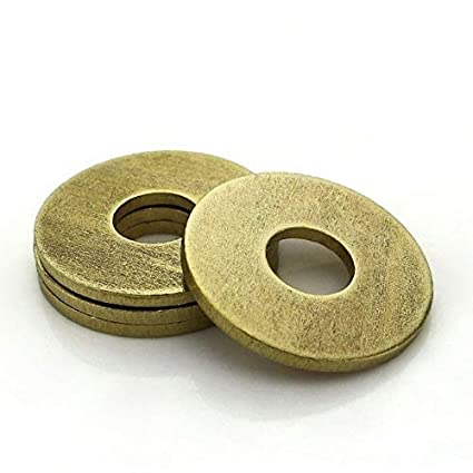 M2-M20 Brass Plain Repair Washers Washers Metric Flat Washers