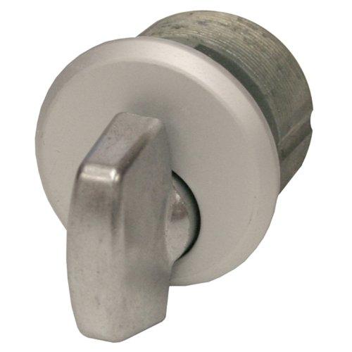 Global Door Controls Zinc Thumbturn in Aluminum