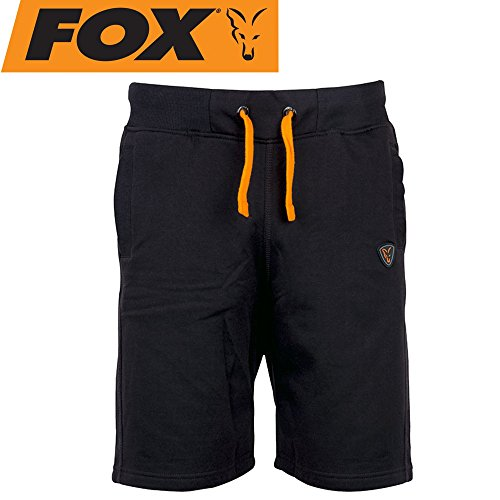 Fox Black Orange Jogger Short – Angel Hose, pescatori, Pantaloni, Pantaloncini, Pantaloni corti