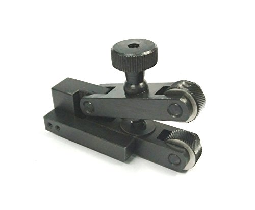 Mini V-Clamp 5 - 20 mm Adjustable force Spring action Knurling Tool for Lathe Machine Quick Change Tool Post
