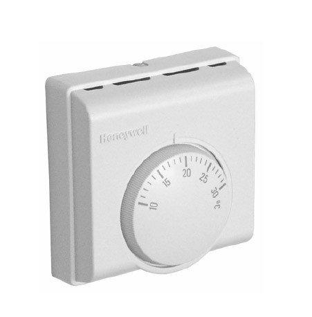 Honeywell T6360C1018 - Termostato Analógico De Ambiente 230V, Spdt, T/N, 10...30ºc, Interruptor On/Off Y Lámpara: Amazon.es: Bricolaje y herramientas