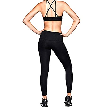 Amazon.com: MAGA 1 Sexy Black Women Sport Bra Running Athletic Yoga Bra Breathable Underwear Bra Push Up Sujetador Deportivo Crop Top Fitness Bra: Kitchen & ...