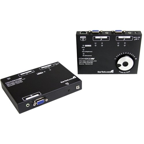 Startech.Com Long Range Vga Over Cat5 Video Extender 300M / 950 Ft - 1920X1080 - 1 X 2, 2 - 300M ''Product Category: Network & Communication/Video Consoles/Extenders''