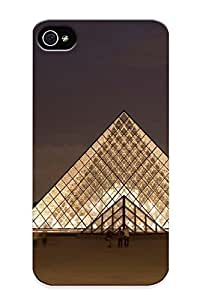 Forever Collectibles Paris Cityscapes Architecture France Towns Hard Snap-on Iphone 4/4s Case With Design Made As Christmas's Gift hjbrhga1544