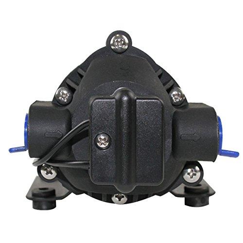 GSLOOK AC110V/115V High Pressure Diaphragm Water Pump 160PSI 8L/min, Self-priming Misting Booster Pump Sprayer for Caravan/RV/Boat/Marine by GSLOOK (Image #1)
