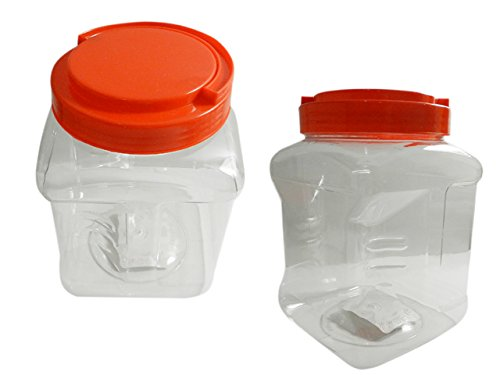 Storage Container, 2.6L Size: 5.3'' x 7.9'' H , Case of 48
