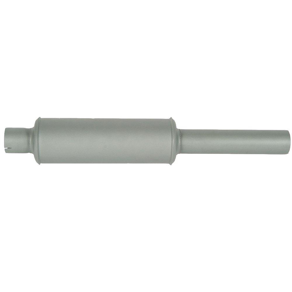 Amazon com: 384345R91 New Vertical Round Body Muffler for