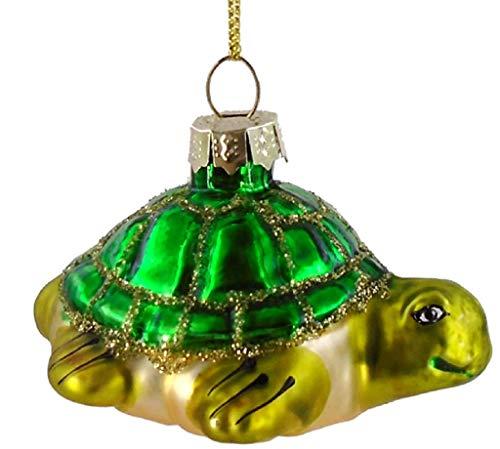 Chesapeake Bay Ornaments - Chesapeake Bay 68831 Blown Glass Sea Turtle Hanging Ornament