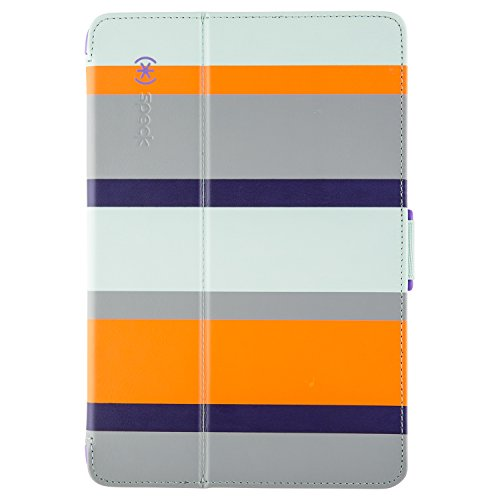 Speck Products Stylefolio Case and Stand for iPad Mini 1, 2, 3, Cabana Stripe/Cayman  (Does not fit iPad mini 4) (Cayman Stripe)