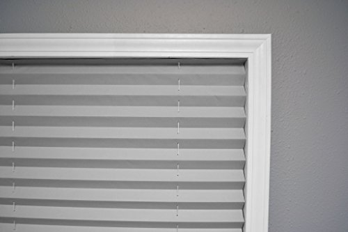 Original Corded Lift Room Darkening Pleated Paper Shade Gray, 36'' x 72'' by Redi Shade (Image #2)