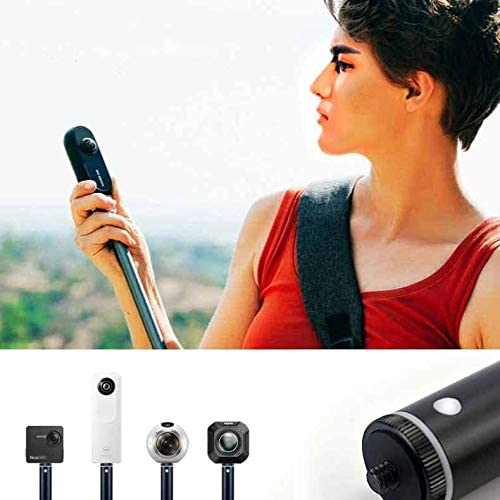 Handle /& Selfie Stick Bullet Time Bundle for Insta 360 ONE X Camera and Action Cameras