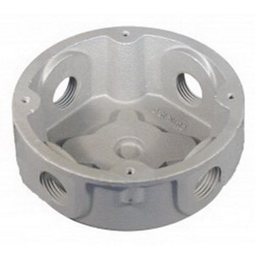 1-5//16 Depth No Lugs Malleable Iron 1//2 Hub Appleton JBX-50 Conduit Outlet Box