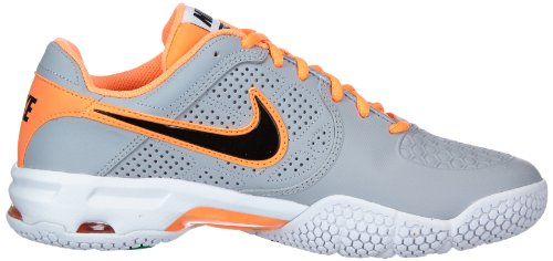 Nike 010 Multicolored Soft Tennis 1 Courtballistec Air Shoes Orange 4 Men's Grey rPwBgCxqr