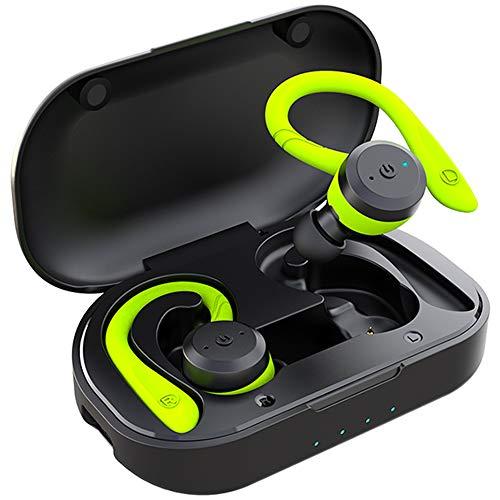 APEKX Bluetooth Headphones True Wireless Earbuds with Charging Case IPX7 Waterproof TWS Stereo Sound Earphones Built-in…