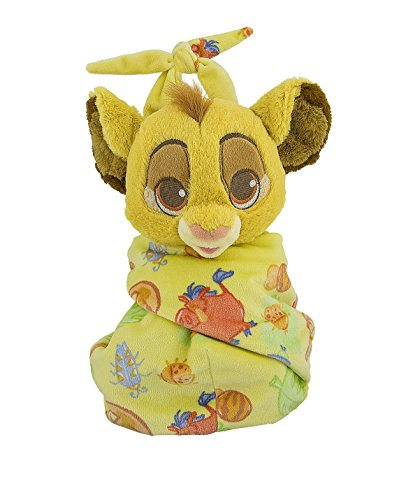 Disney Baby Simba fromThe Lion King Blanket in a Pouch Blanket Plush Doll