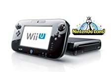 2017 Newest Nintendo Wii U Deluxe set 32GB with Nintendo Land-Black (Certified Refurbished)