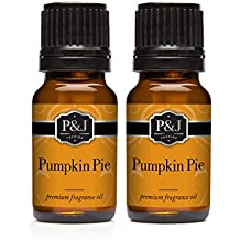 Pumpkin Pie Fragrance Oil - Premium Grade Scented Oil - 10ml - 2-Pack